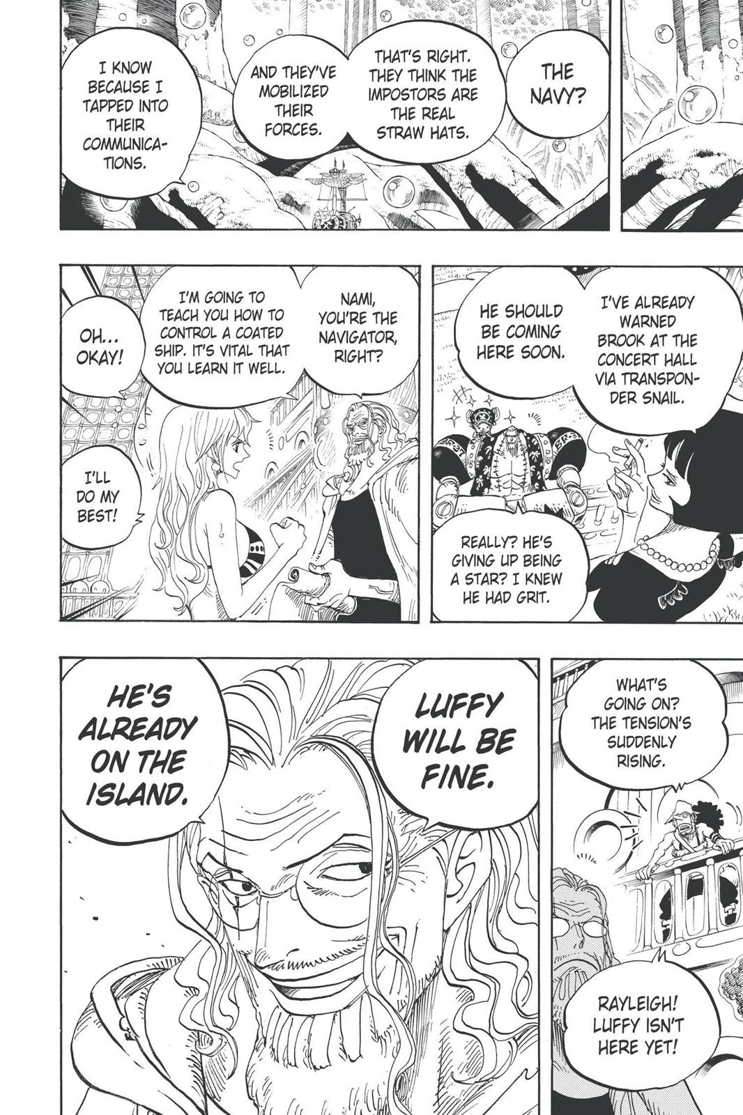 One Piece, Chapter 600 image 018