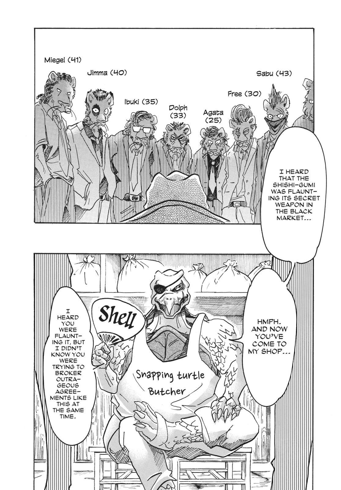 Beastars Manga, Chapter 56 image 002