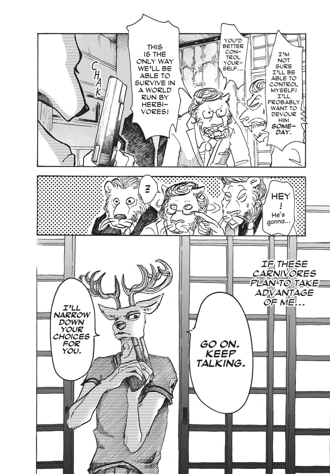Beastars Manga, Chapter 51 image 008