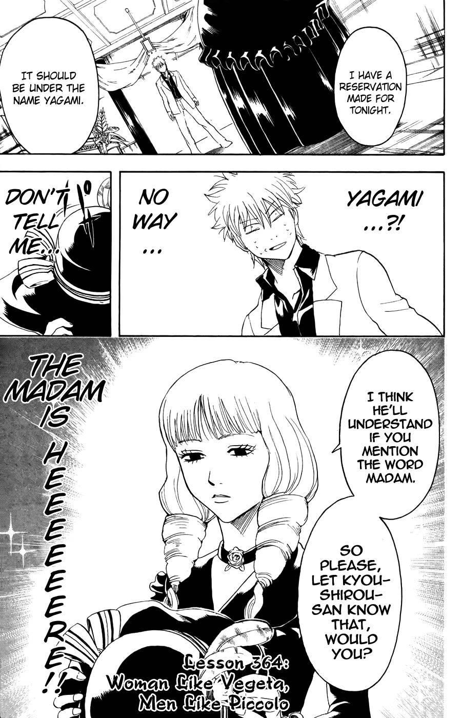 Gintama Chapter, 364 image 001