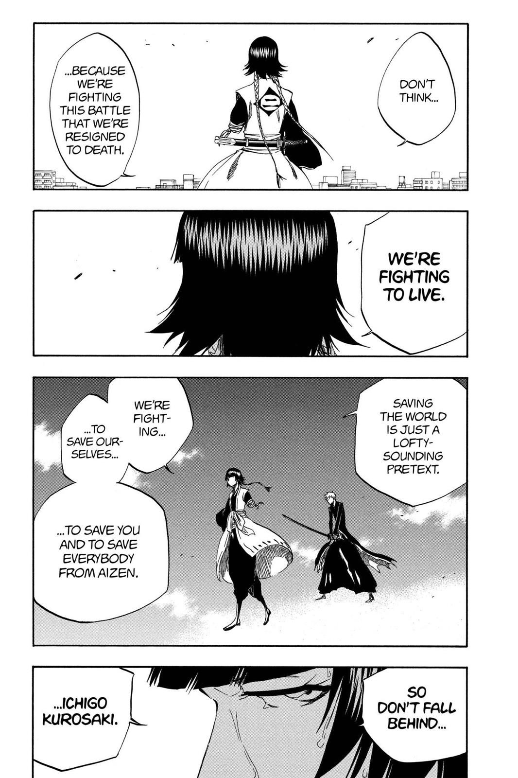 Bleach, Chapter 389 image 010