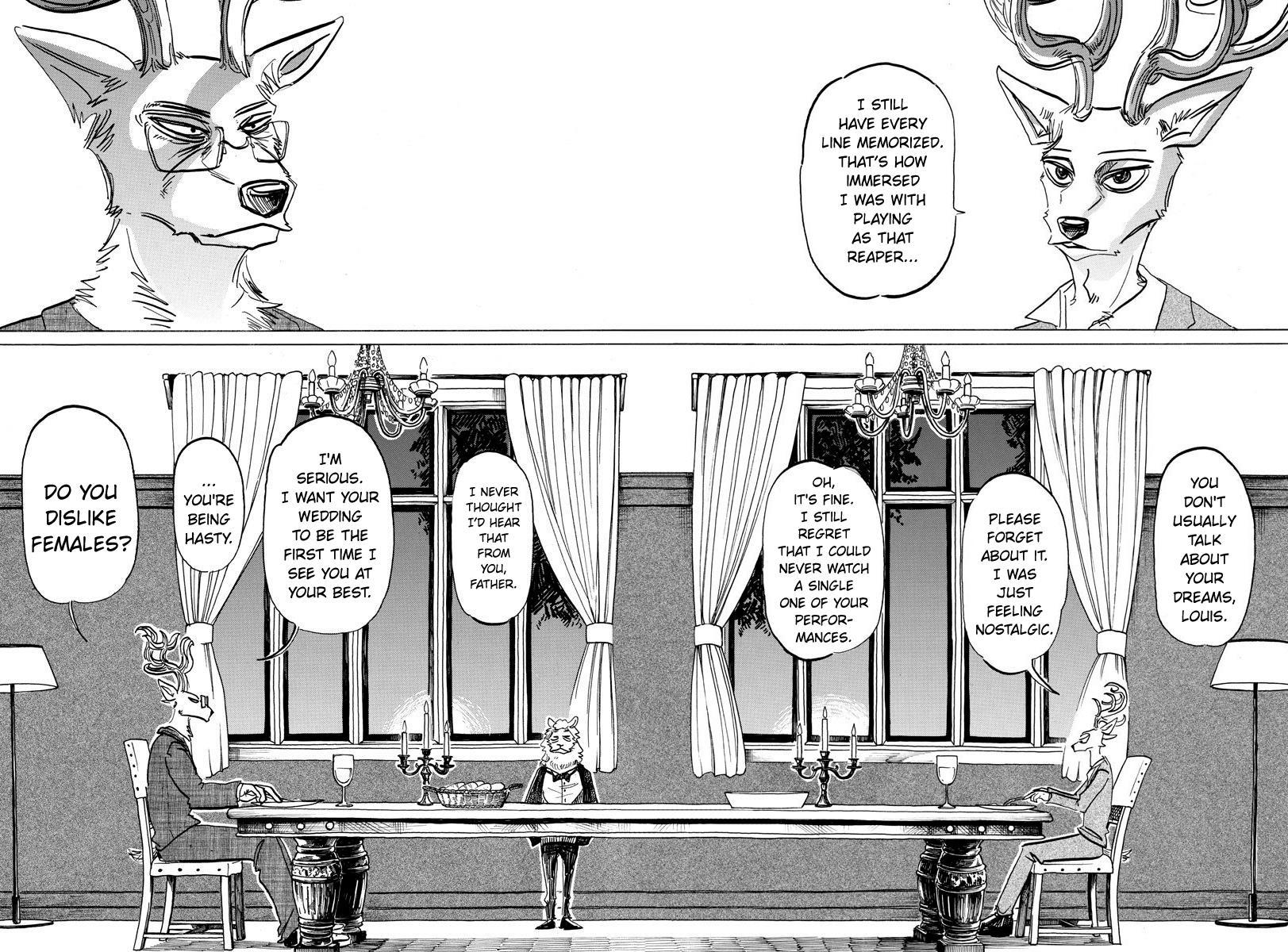 Beastars Manga, Chapter 157 image 003