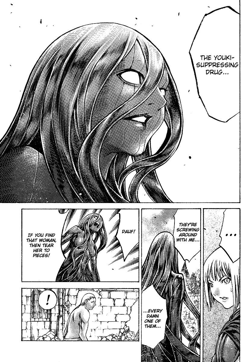 Claymore, Chapter 91 image 018