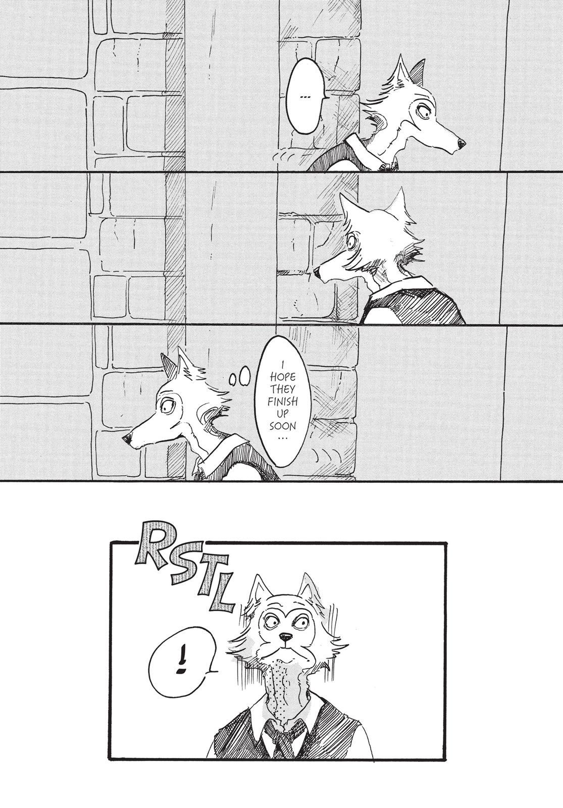 Beastars Manga, Chapter 3 image 002