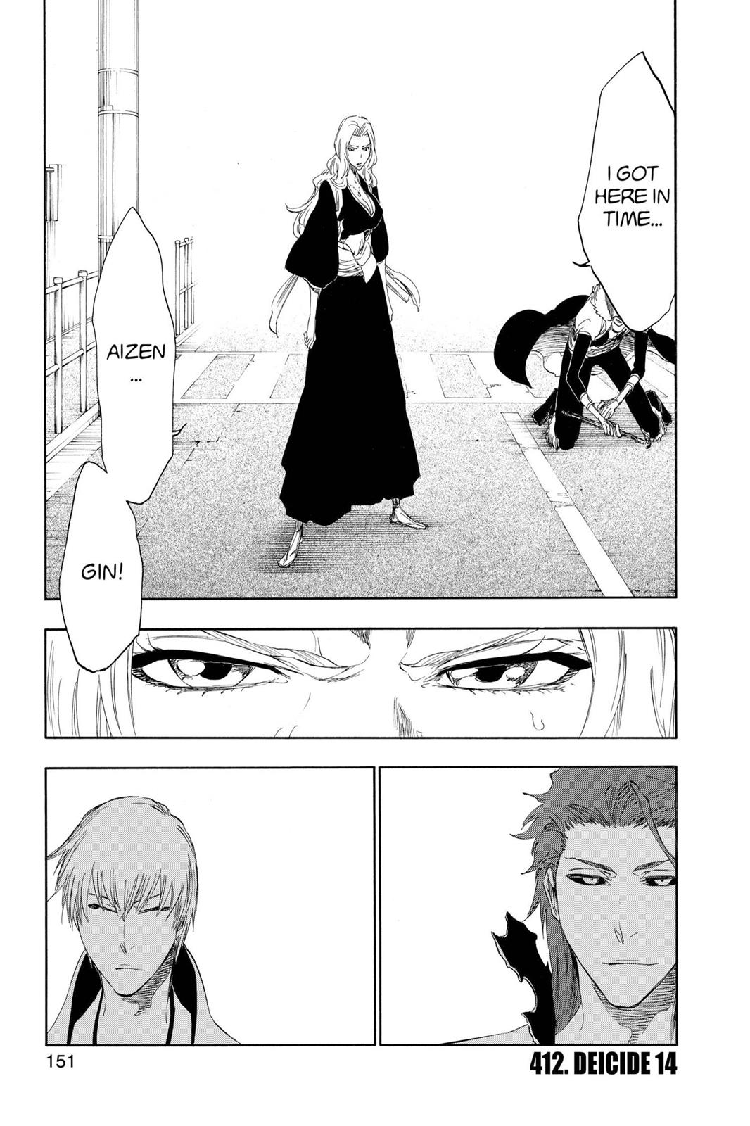 Bleach, Chapter 412 image 001