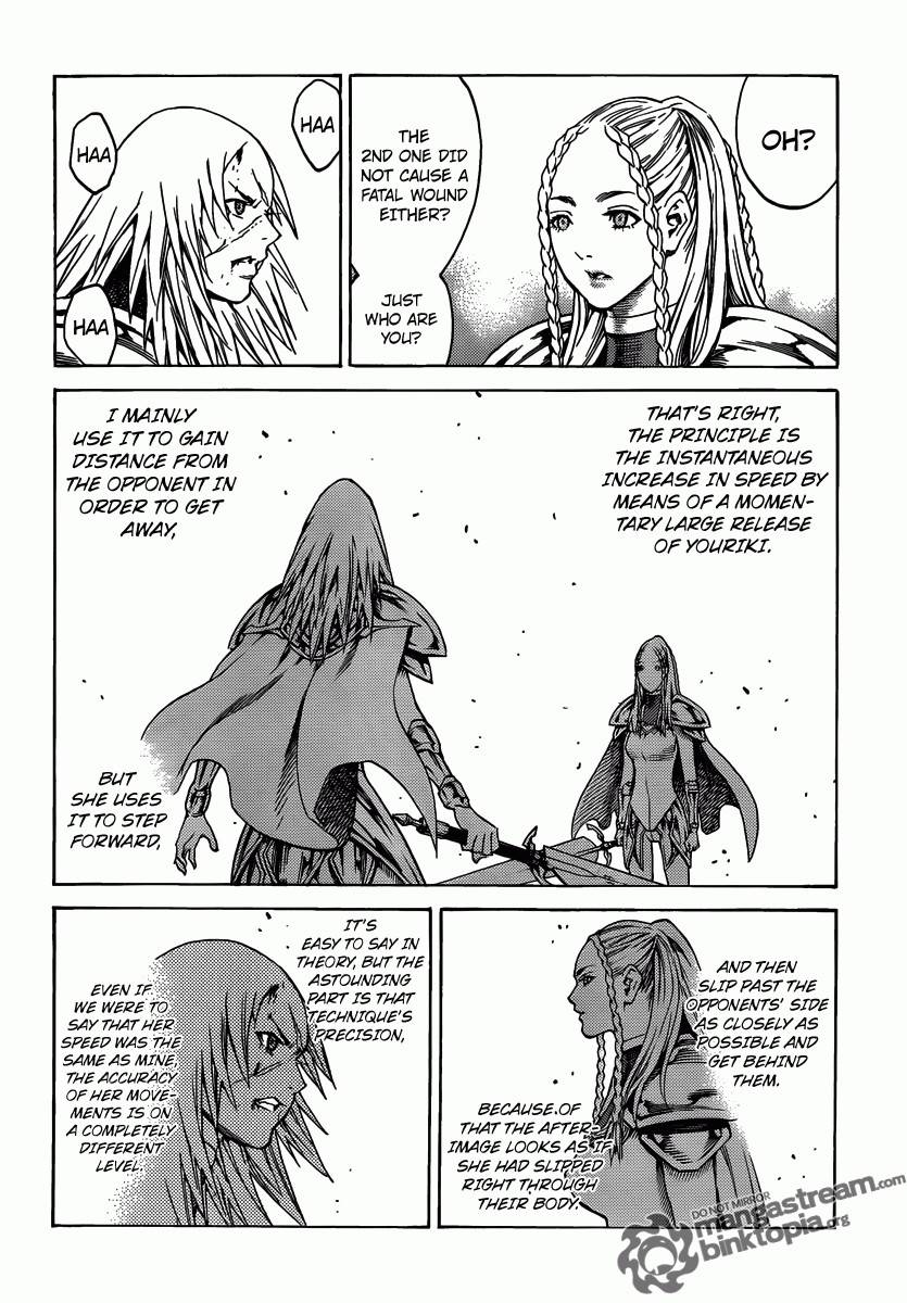 Claymore, Chapter 116 image 022