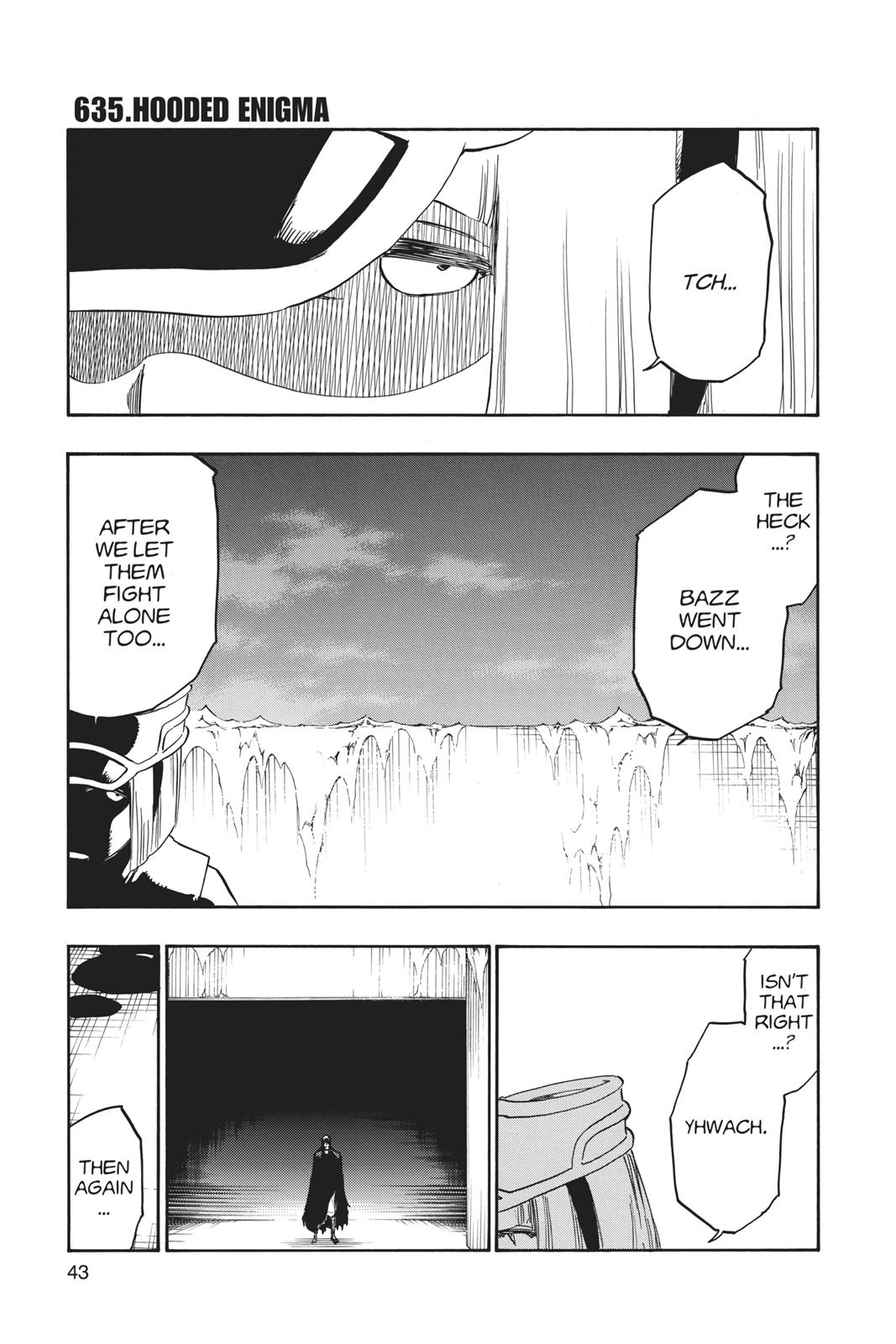 Bleach, Chapter 635 image 001