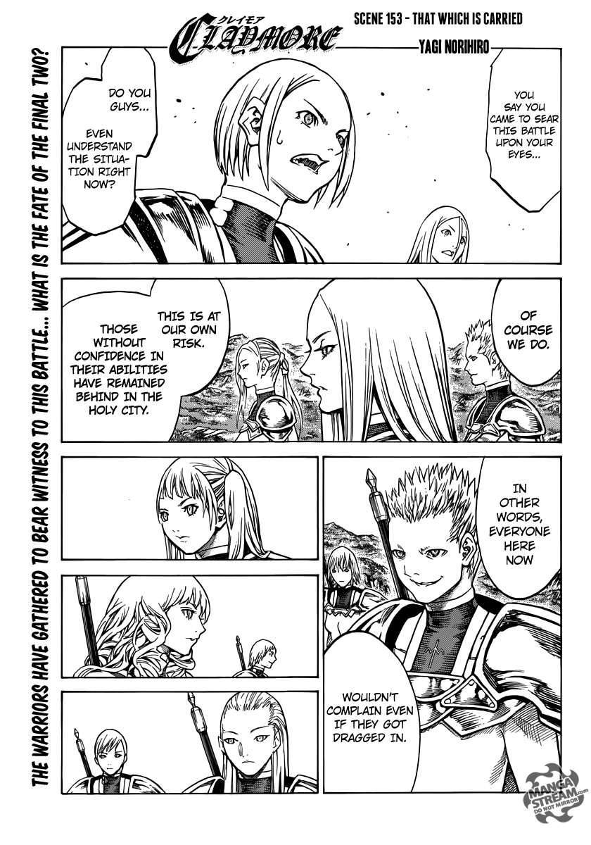 Claymore, Chapter 153 image 001