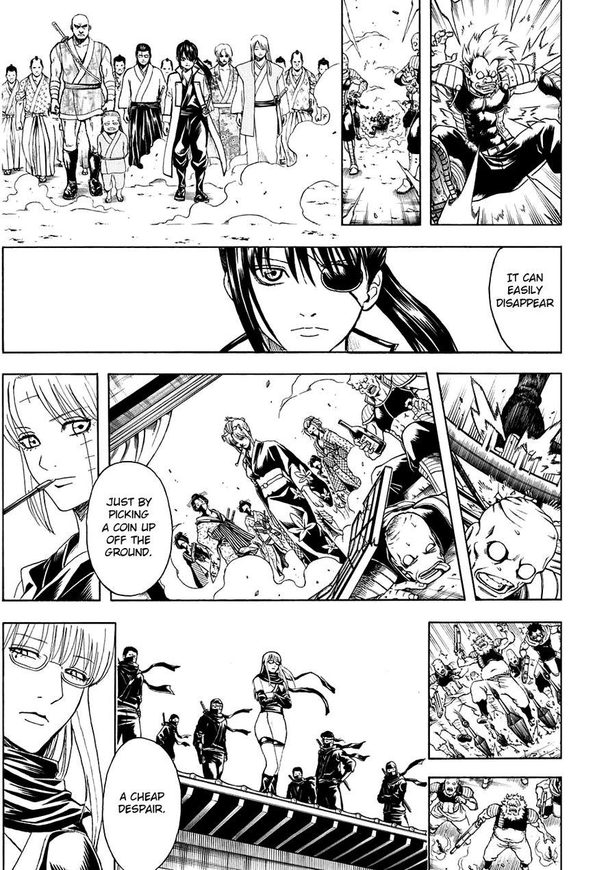 Gintama Chapter, 597 image 009