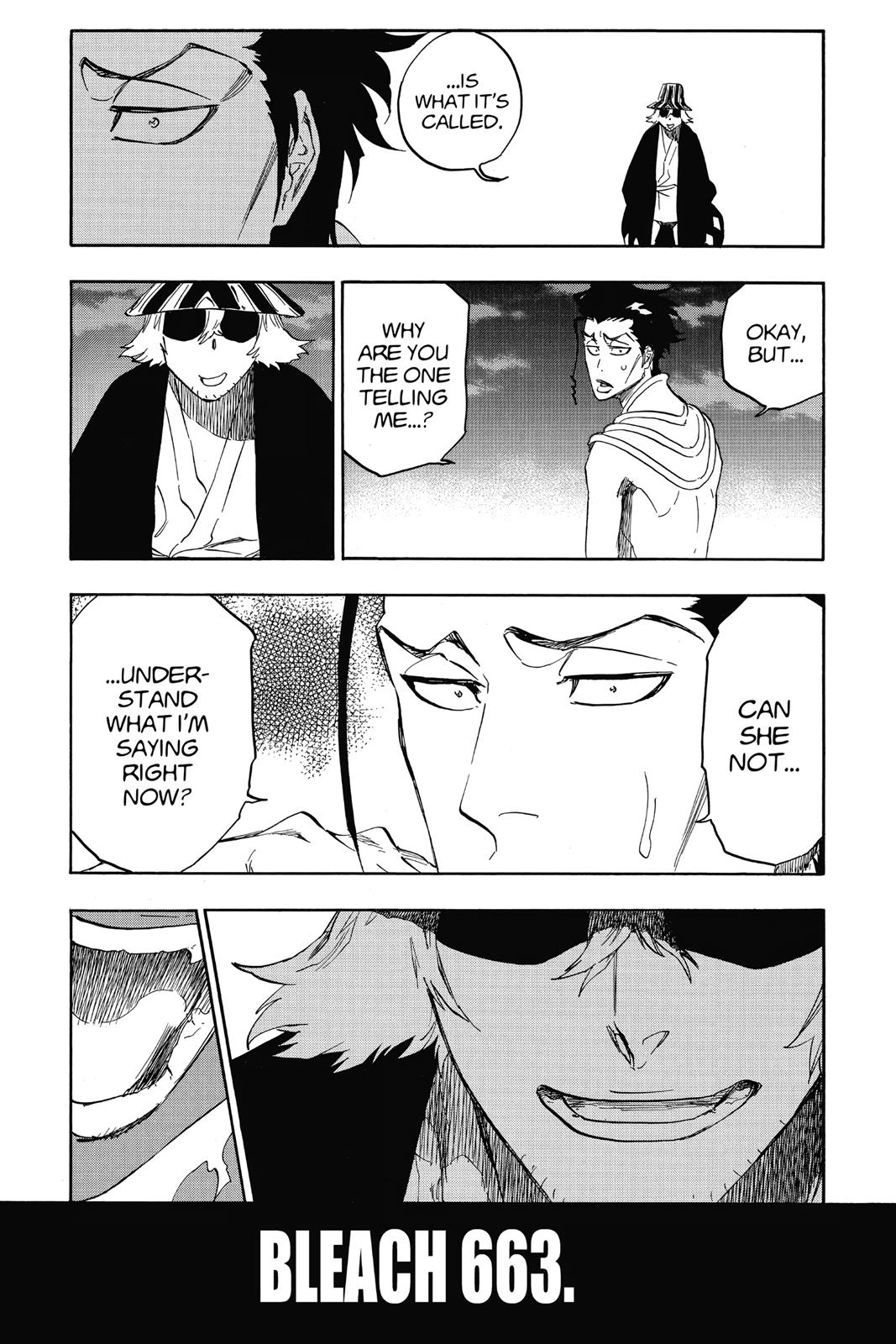 Bleach, Chapter 663 image 003