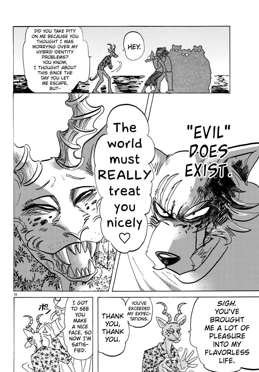 Beastars Manga, Chapter 140 image 015