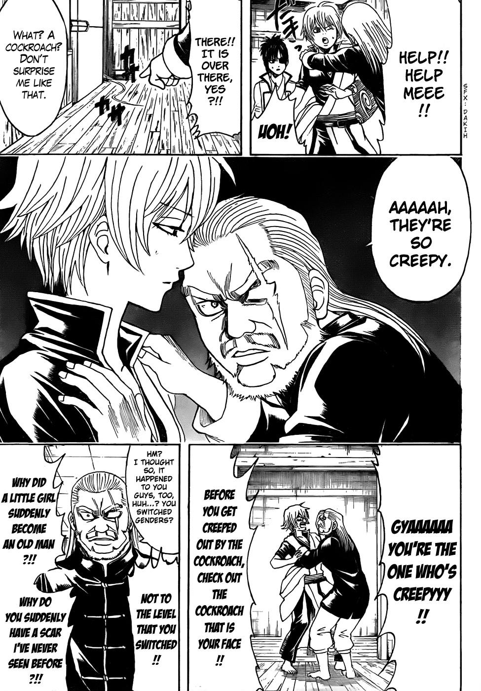 Gintama Chapter, 437 image 015