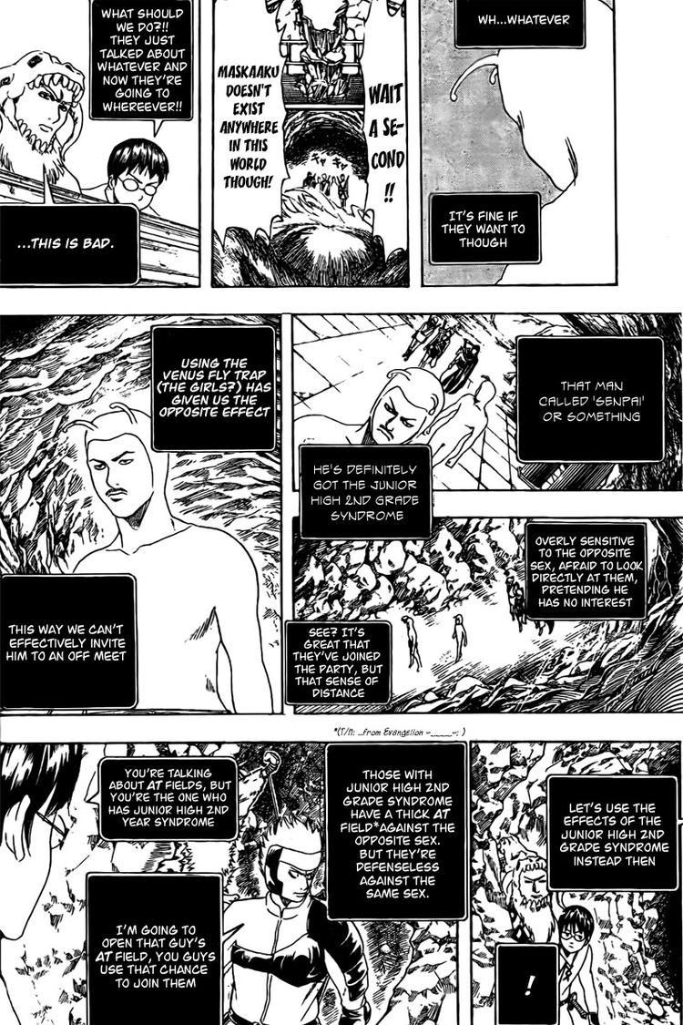 Gintama Chapter, 191 image 014