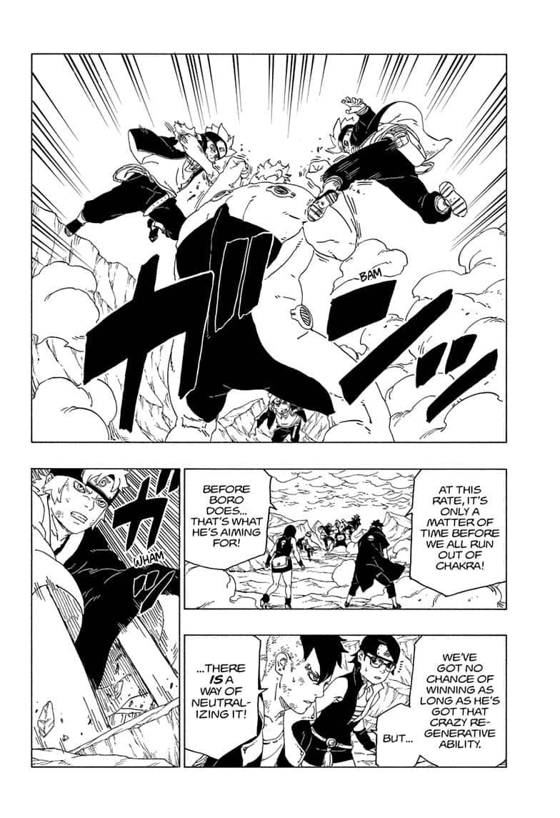 Boruto Manga, Chapter 42 image 021
