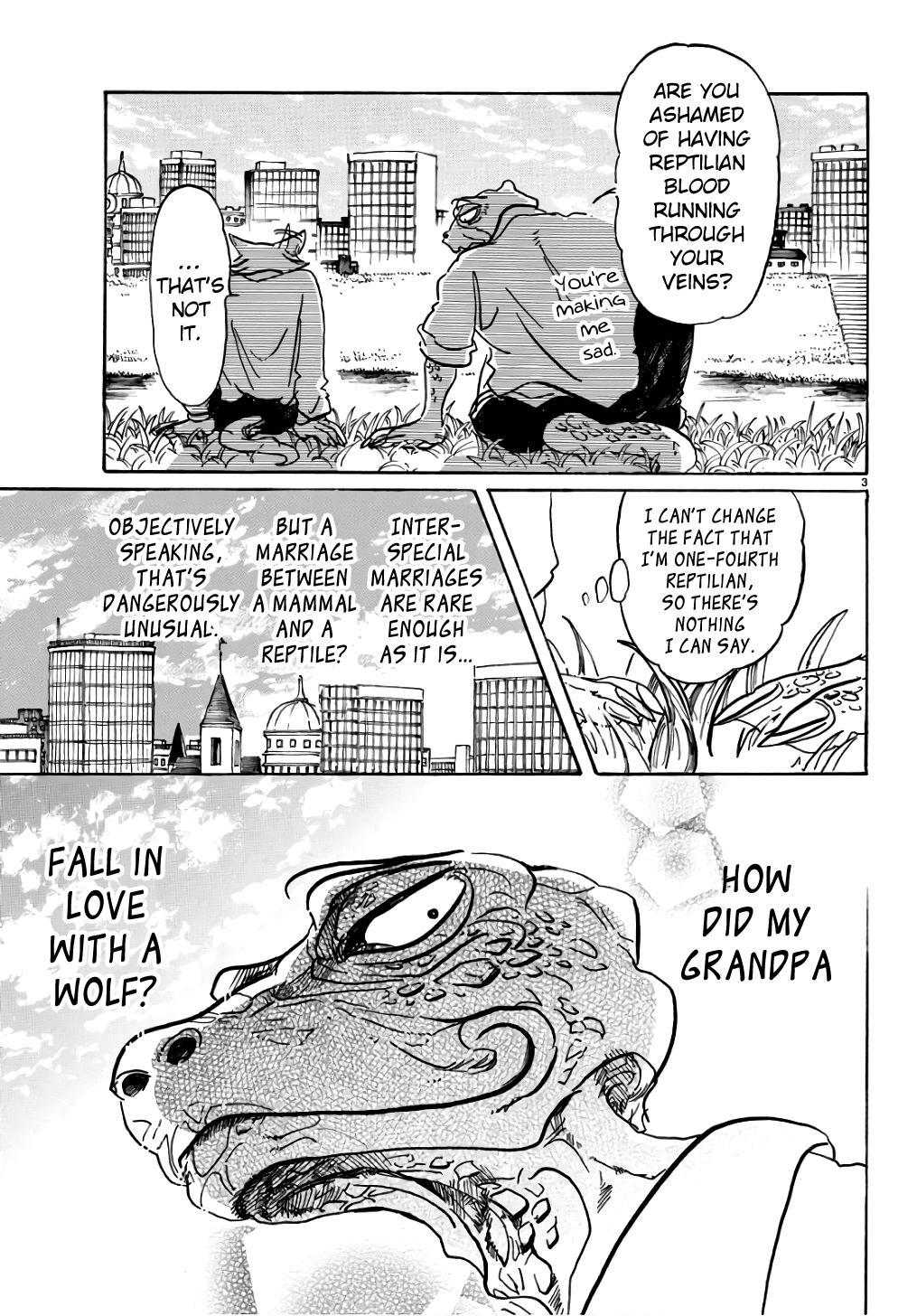 Beastars Manga, Chapter 85 image 003