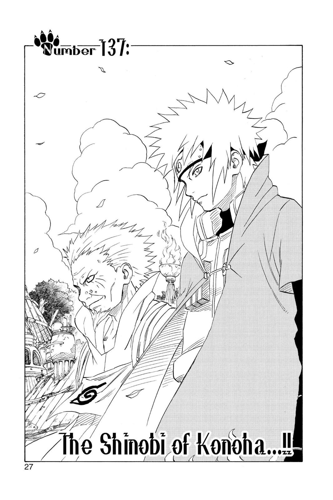Naruto, Chapter 137 image 001