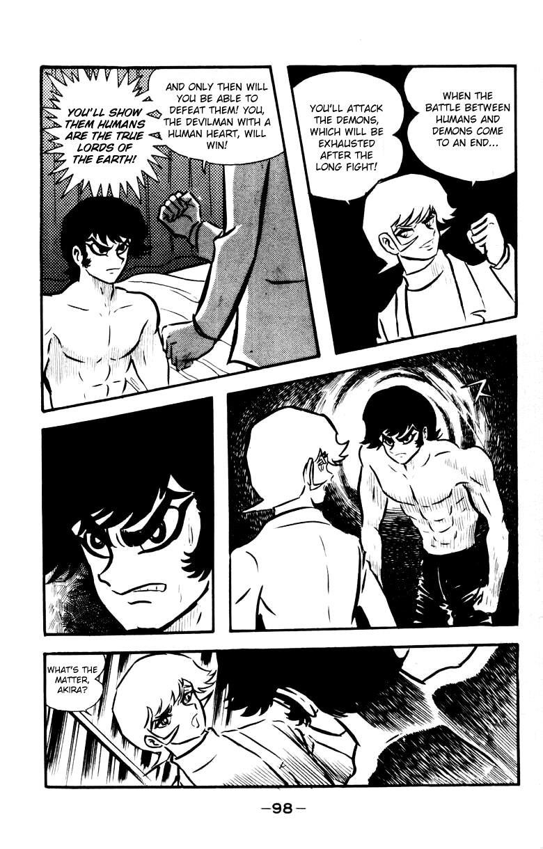 Devilman, Chapter 4 image 090