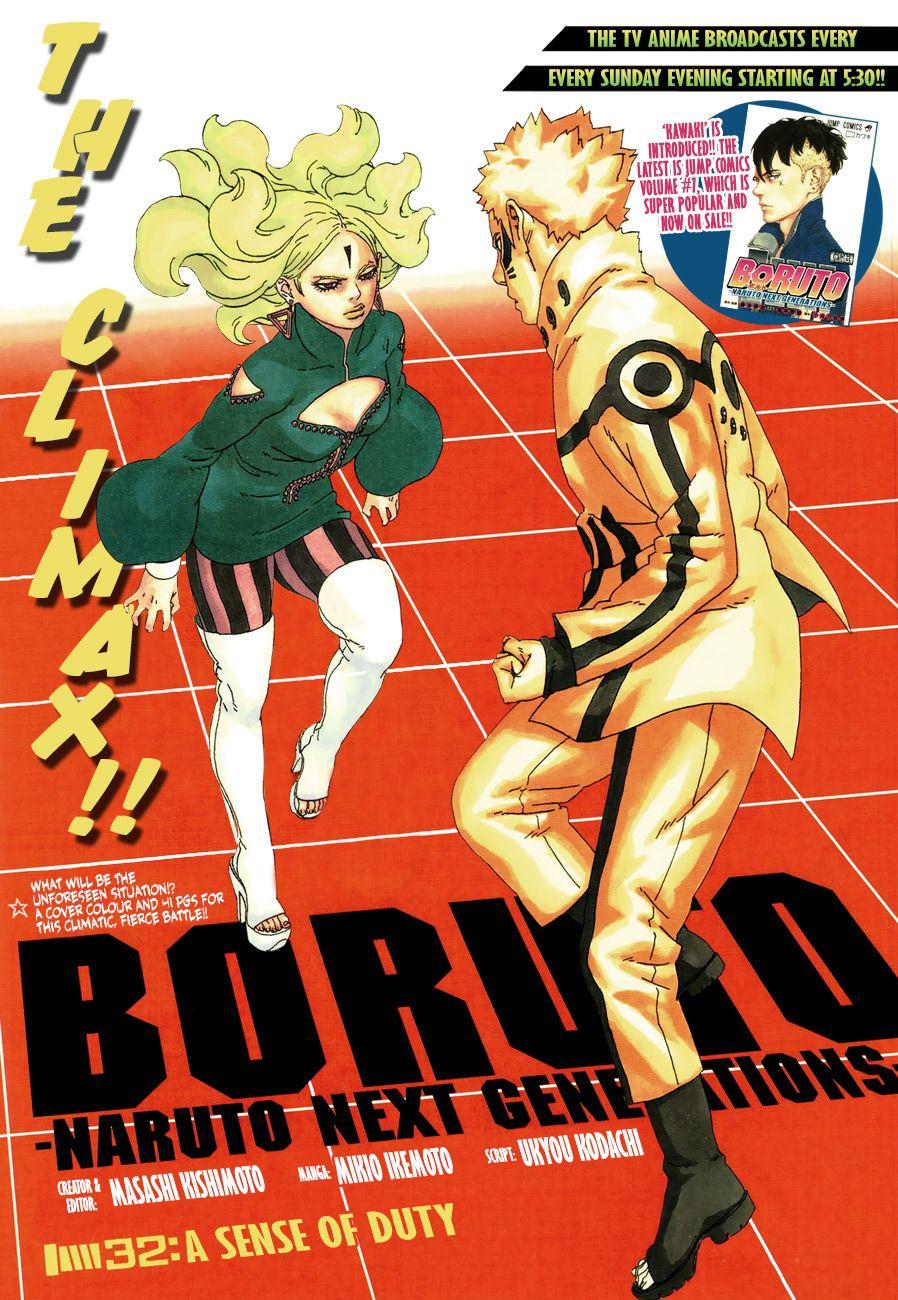 Boruto Manga, Chapter 32 image 001