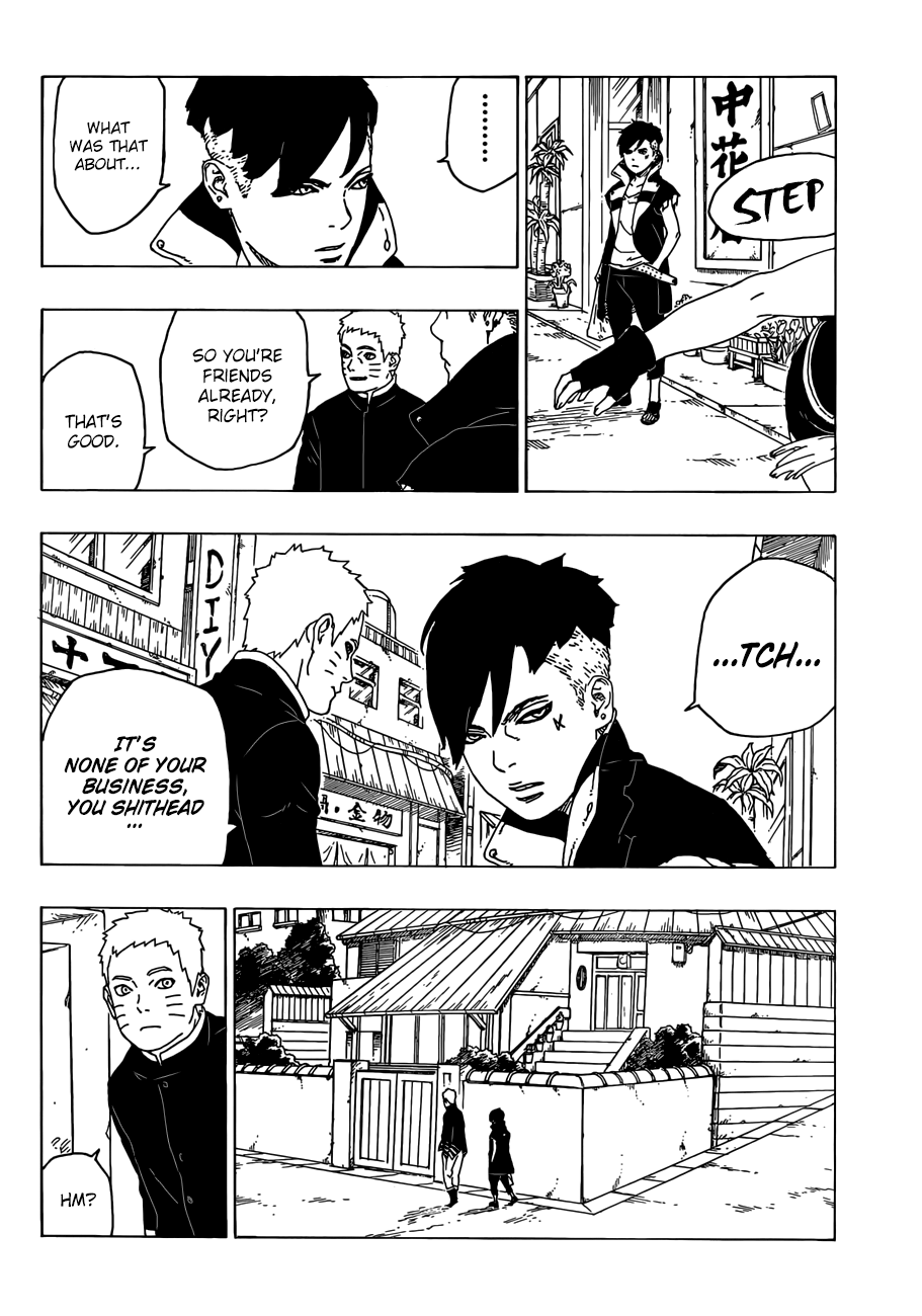 Boruto Manga, Chapter 28 image 033