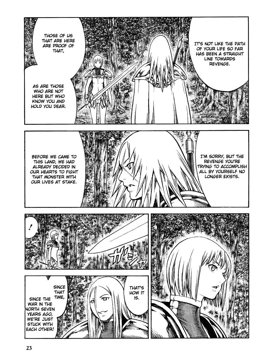 Claymore, Chapter 130 image 021