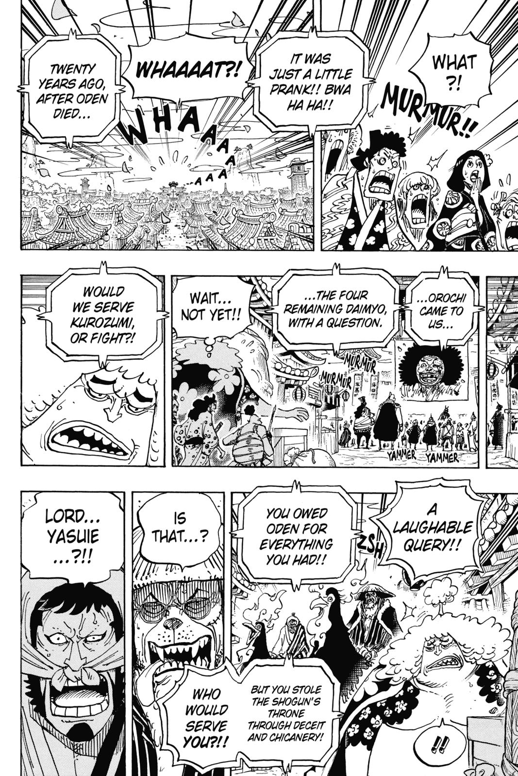 One Piece, Chapter 942 image 009