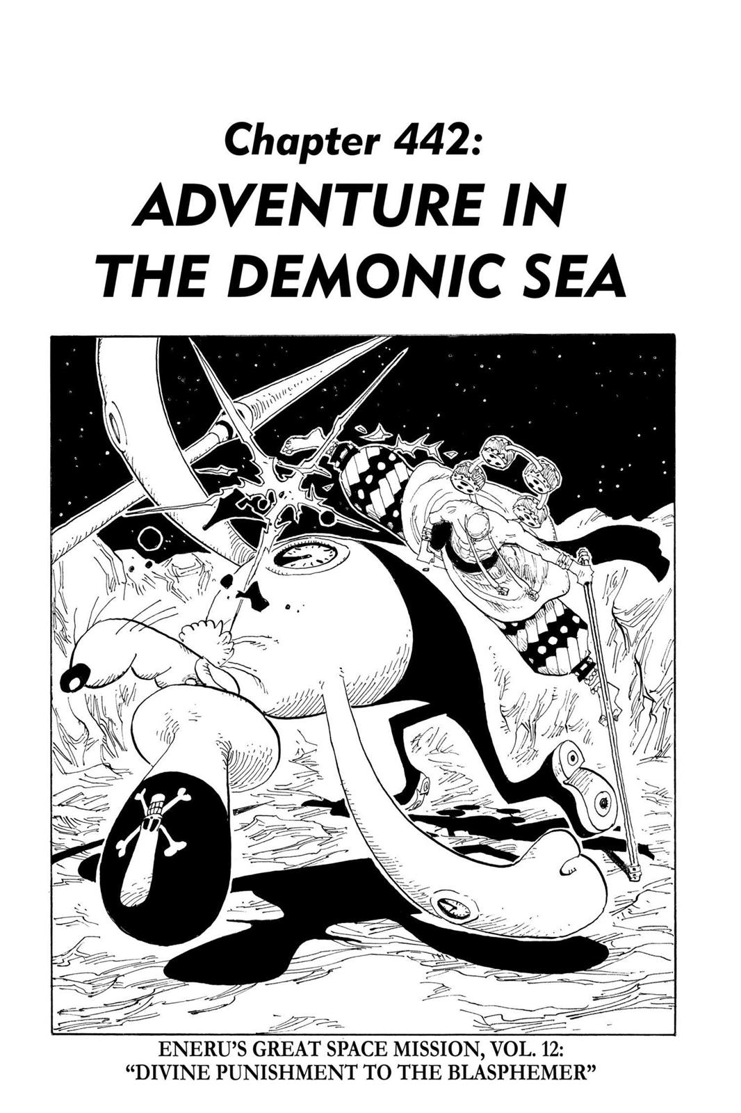 One Piece, Chapter 442 image 001