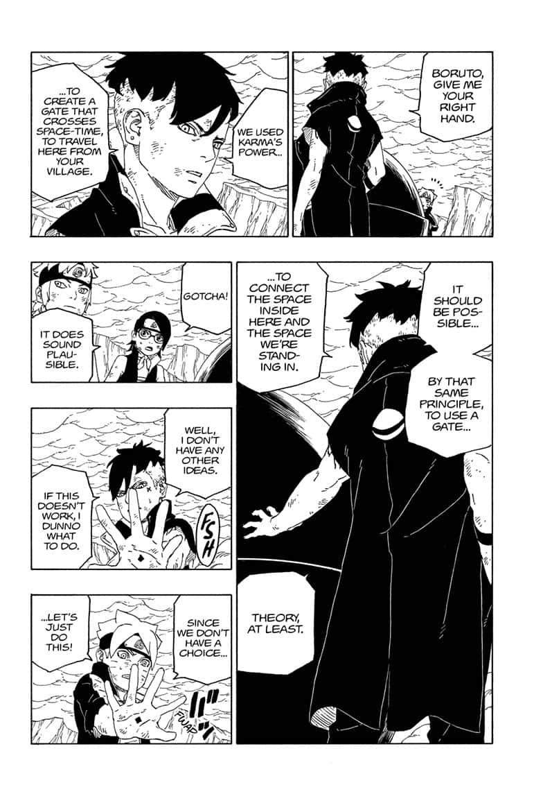 Boruto Manga, Chapter 43 image 010
