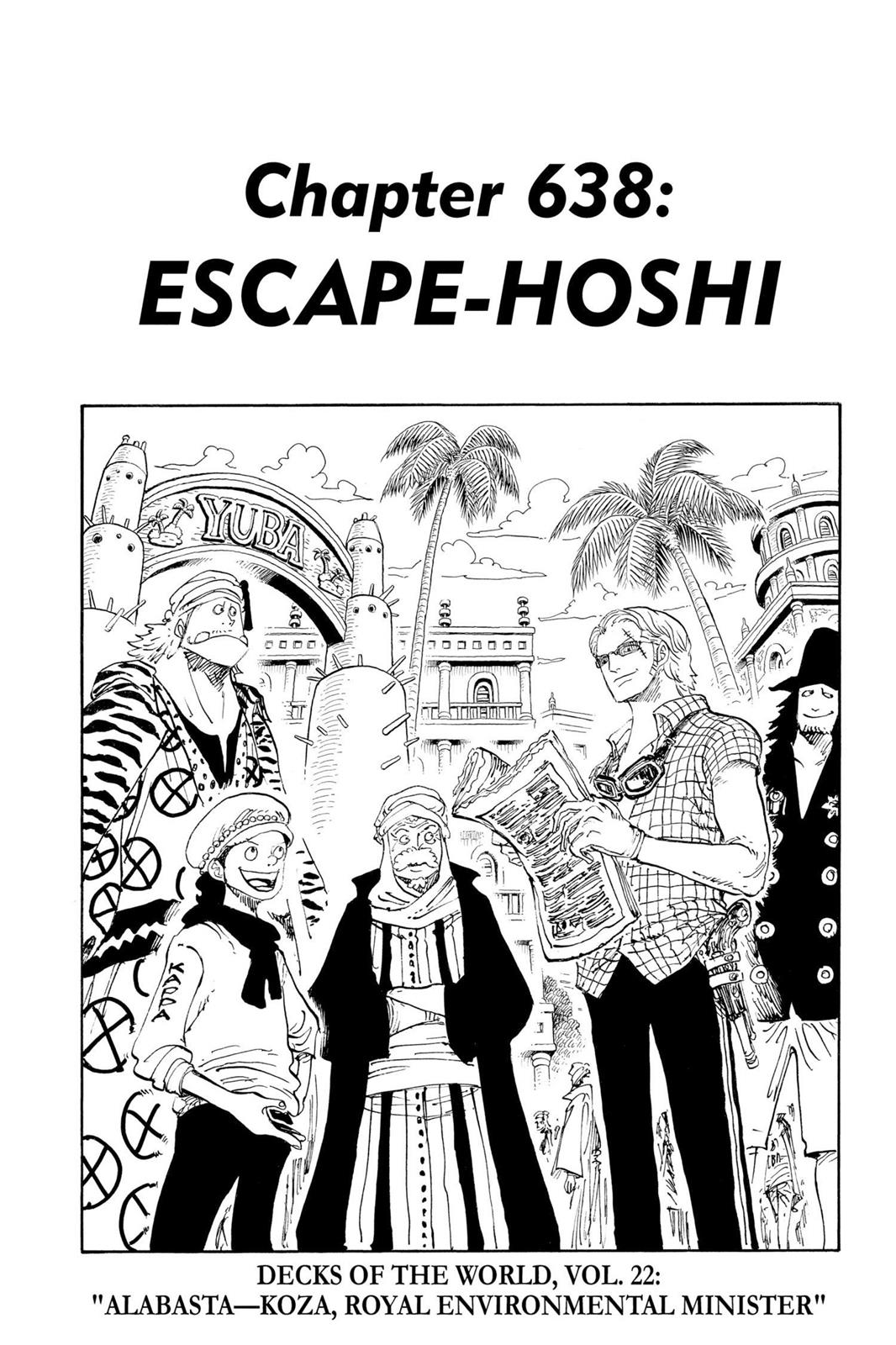 One Piece, Chapter 638 image 001