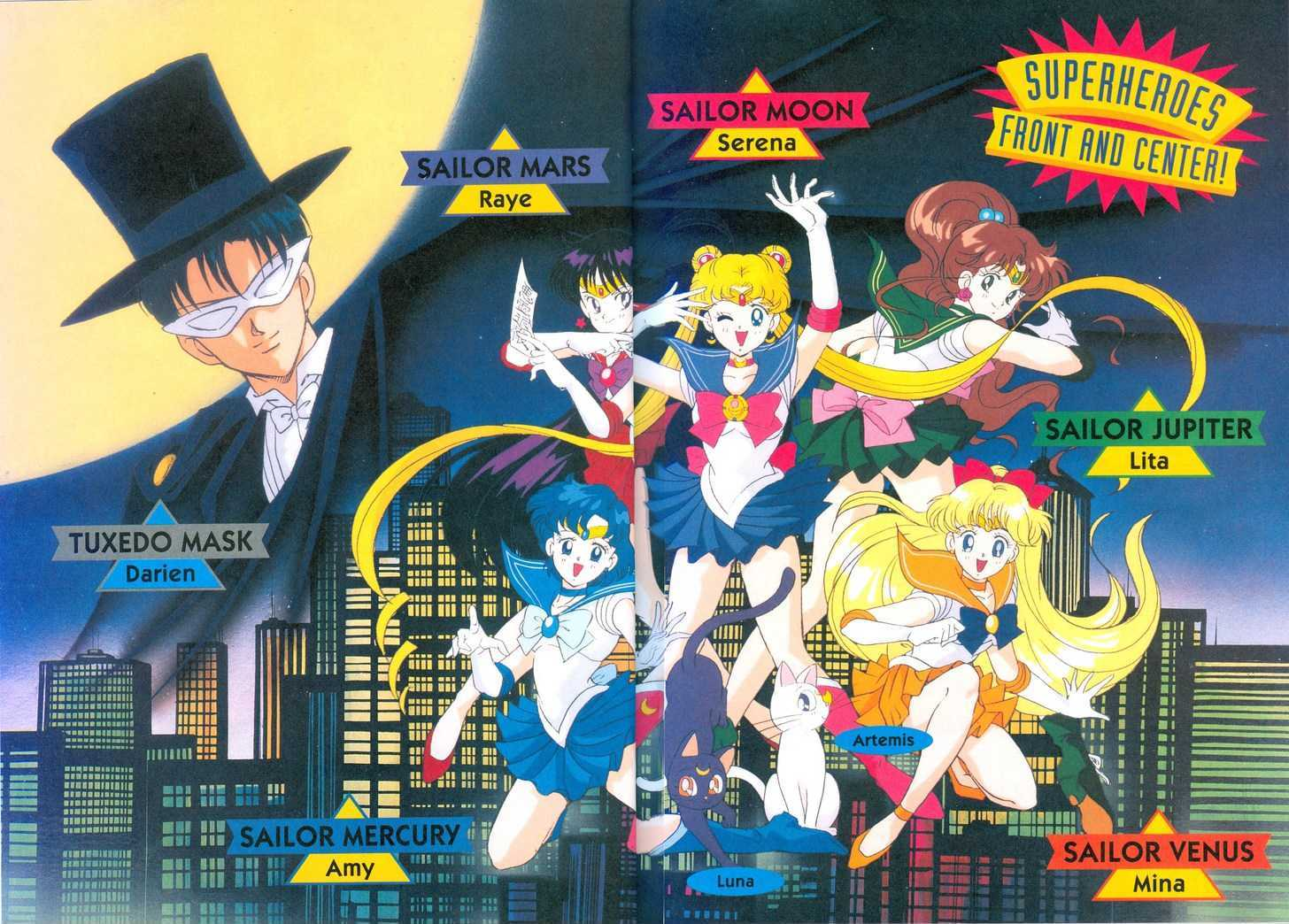 Sailor Moon, Cahpter 2 image 021