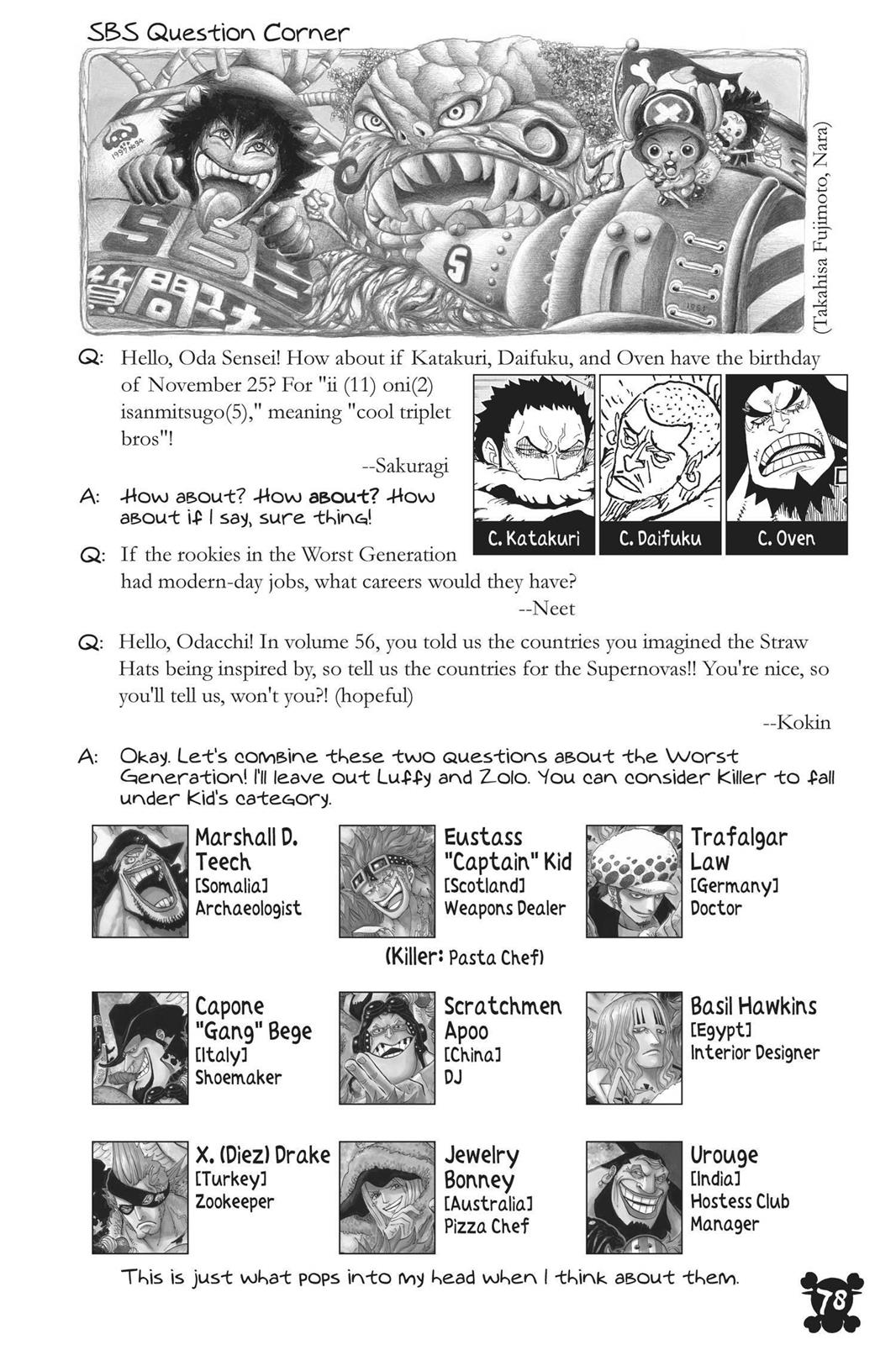 One Piece, Chapter 883 image 017