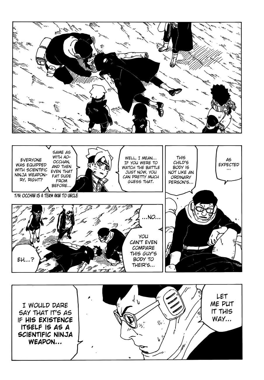 Boruto Manga, Chapter 25 image 035