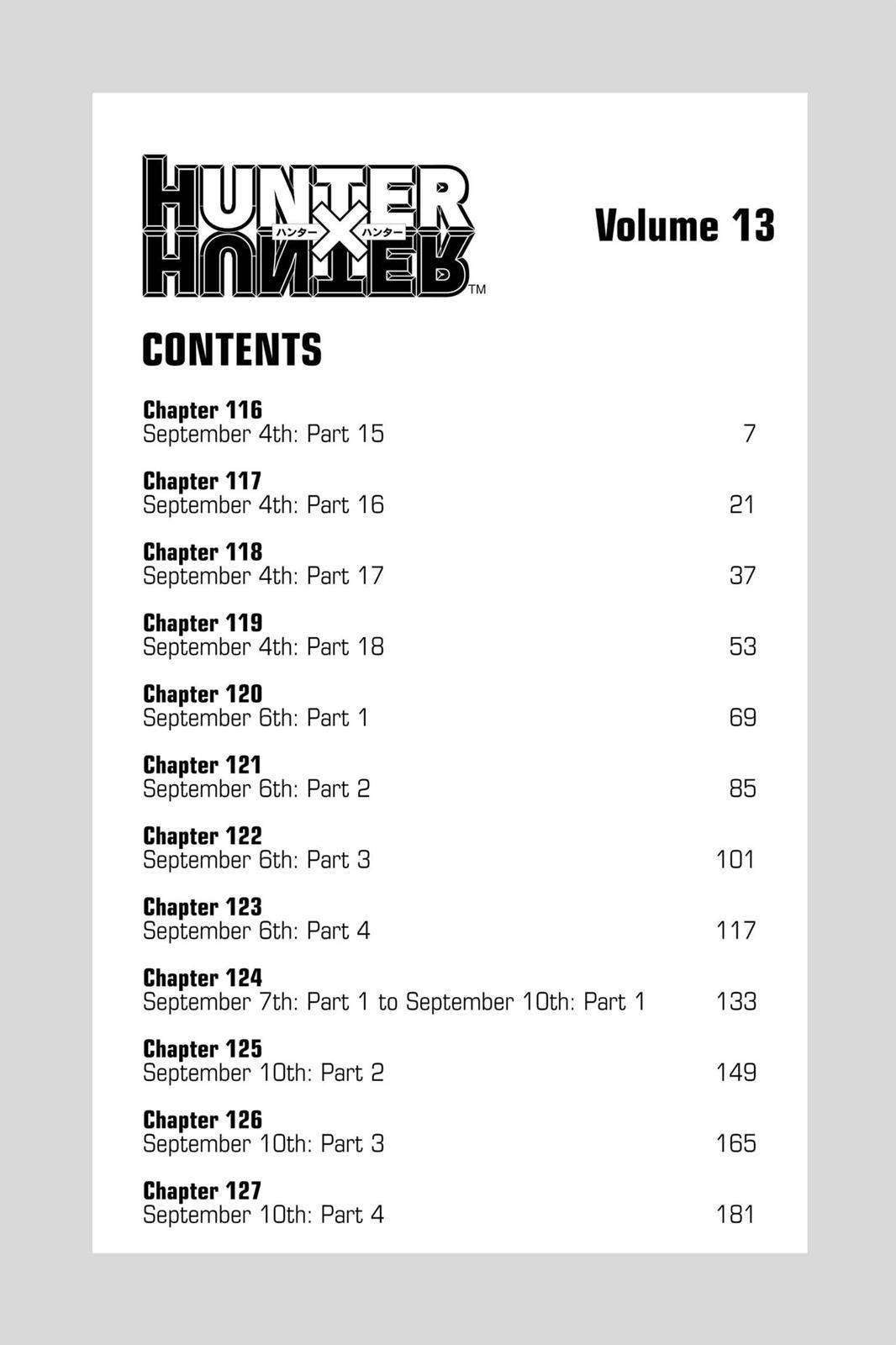 Hunter X Hunter, Chapter 116 image 006