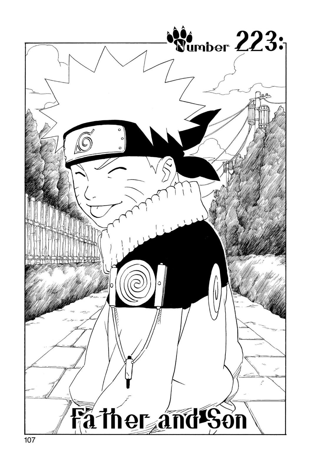 Naruto, Chapter 223 image 001