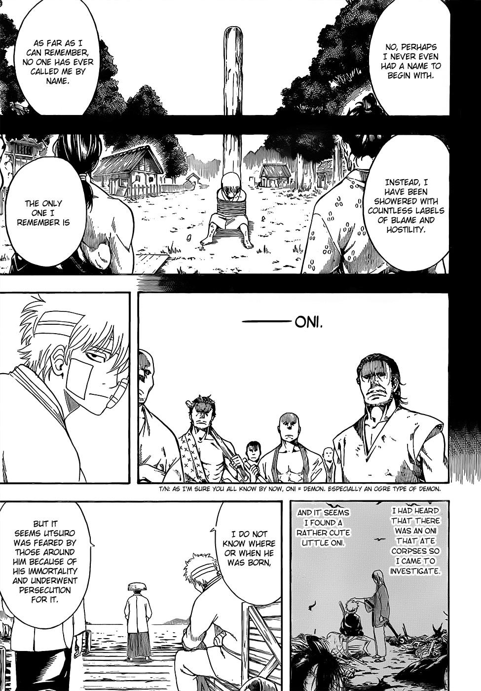 Gintama Chapter, 593 image 007