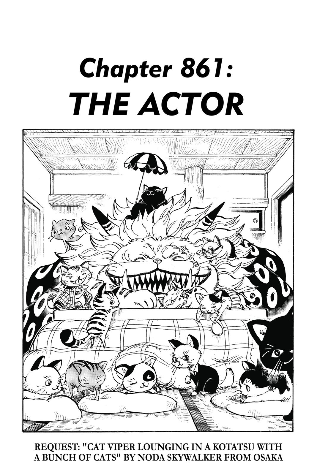 One Piece, Chapter 861 image 001