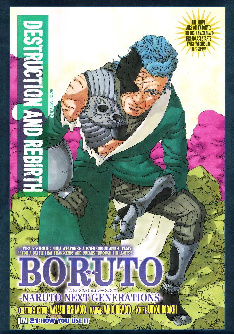 Boruto Manga, Chapter 21 image 001