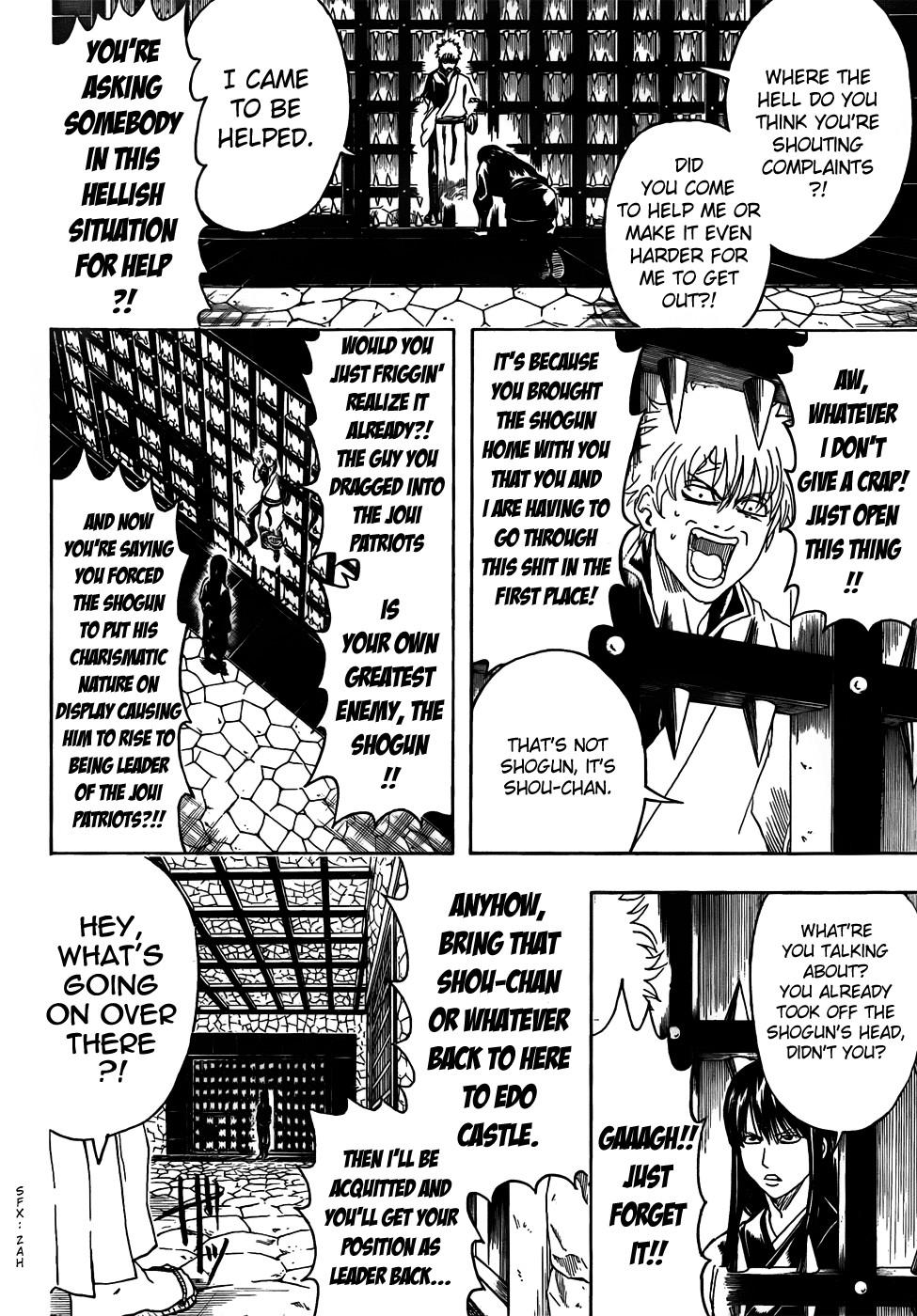 Gintama Chapter, 415 image 006