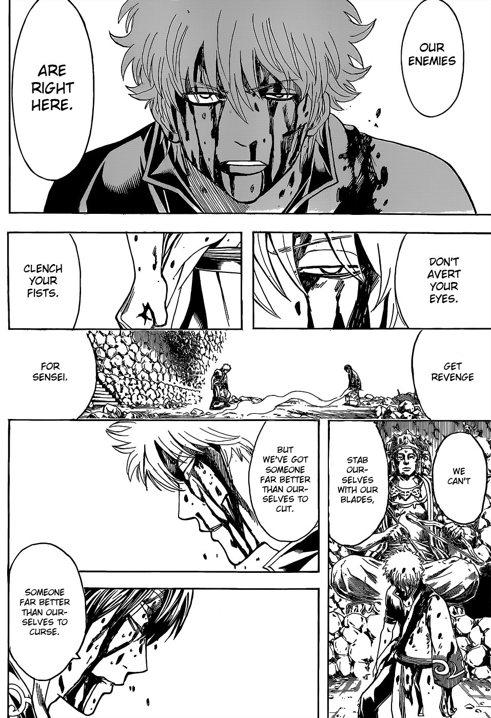 Gintama Chapter, 519 image 009