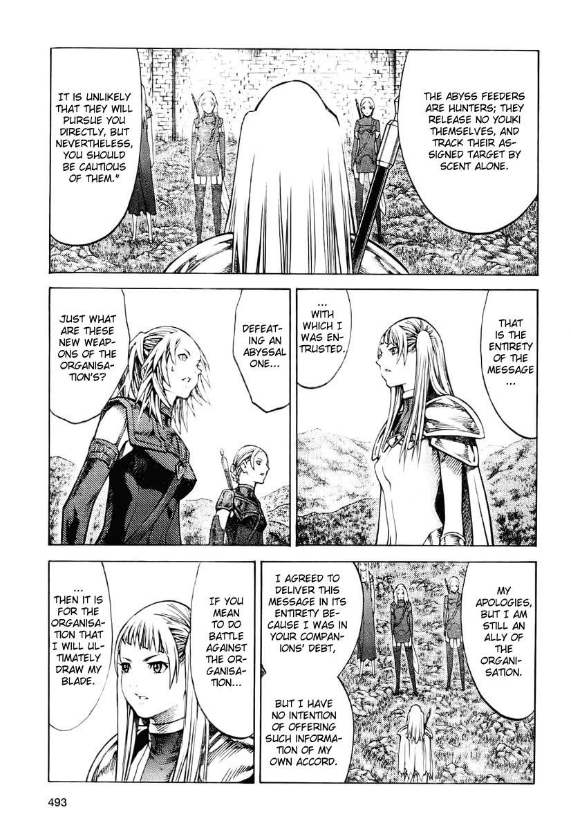 Claymore, Chapter 90 image 011