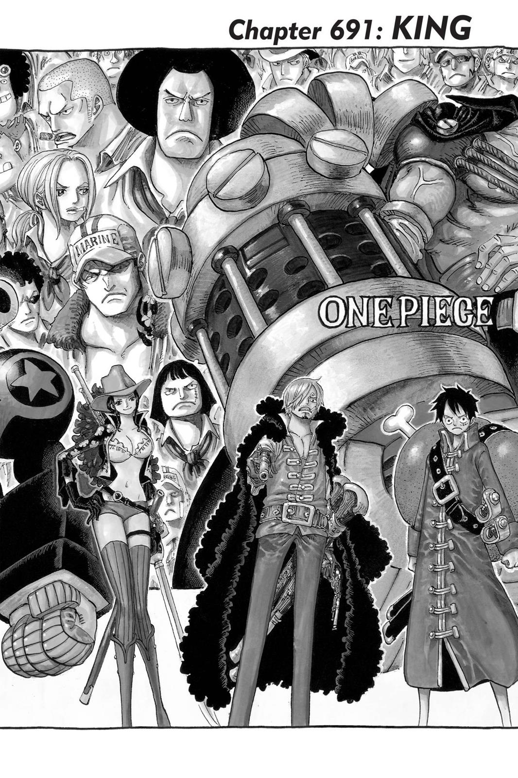 One Piece, Chapter 691 image 010