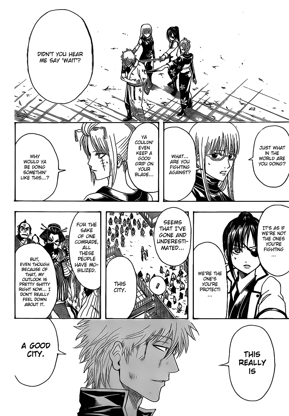 Gintama Chapter, 377 image 016