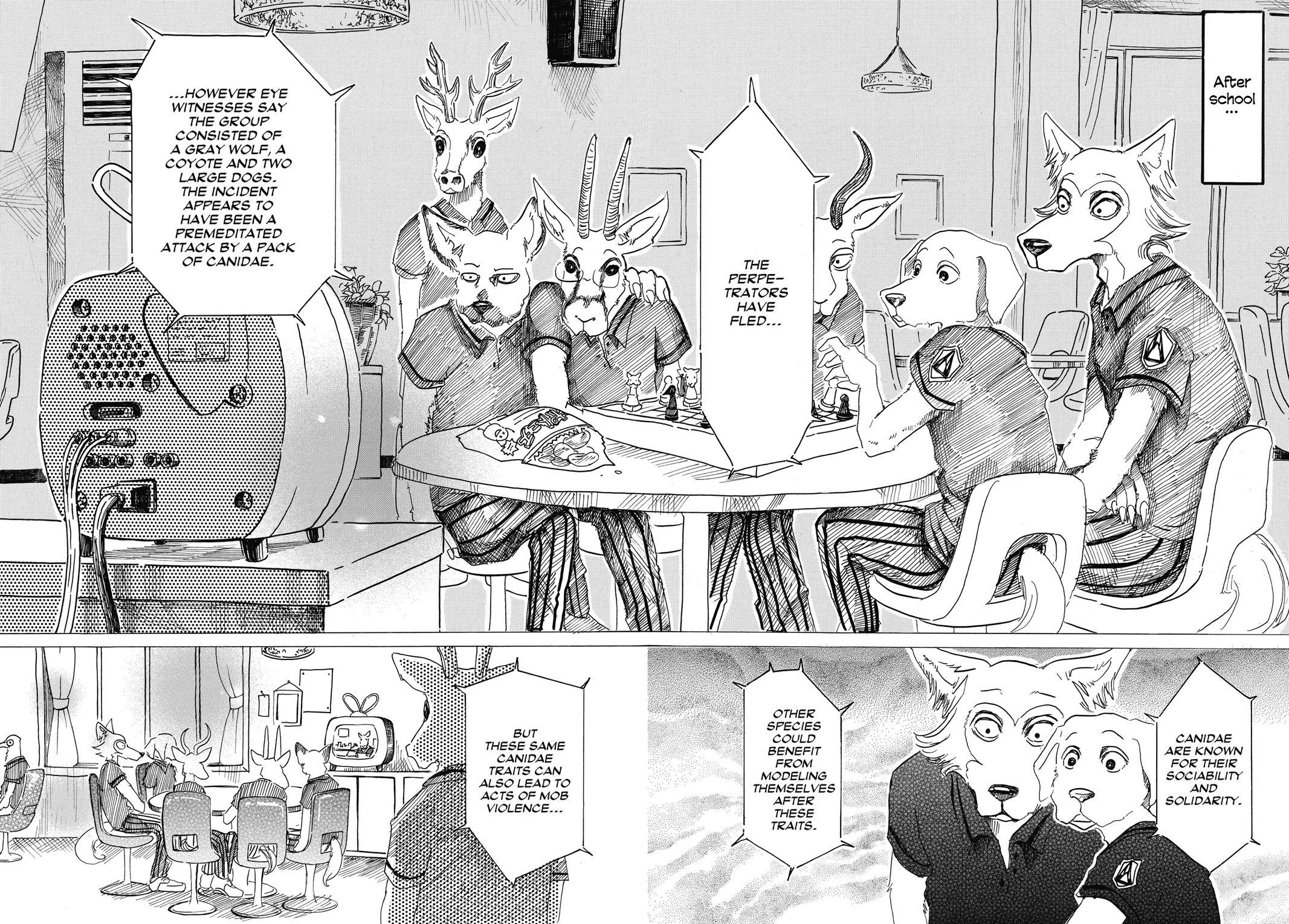 Beastars Manga, Chapter 21 image 002