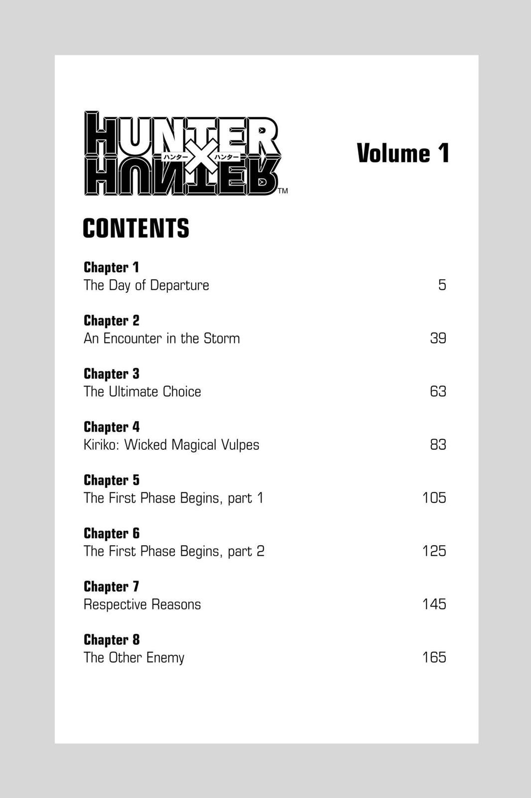 Hunter X Hunter, Chapter 1 image 005