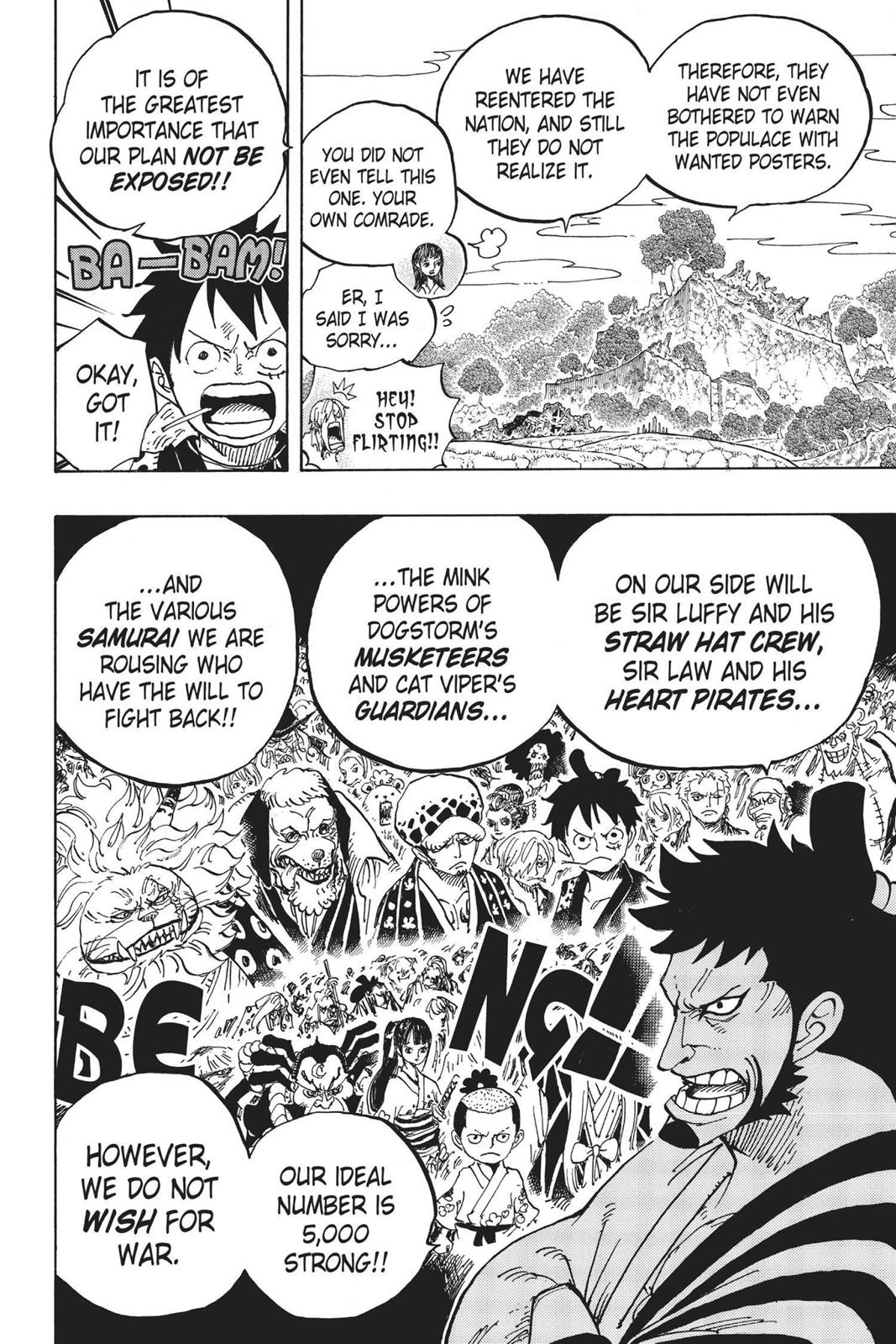 One Piece, Chapter 920 image 015