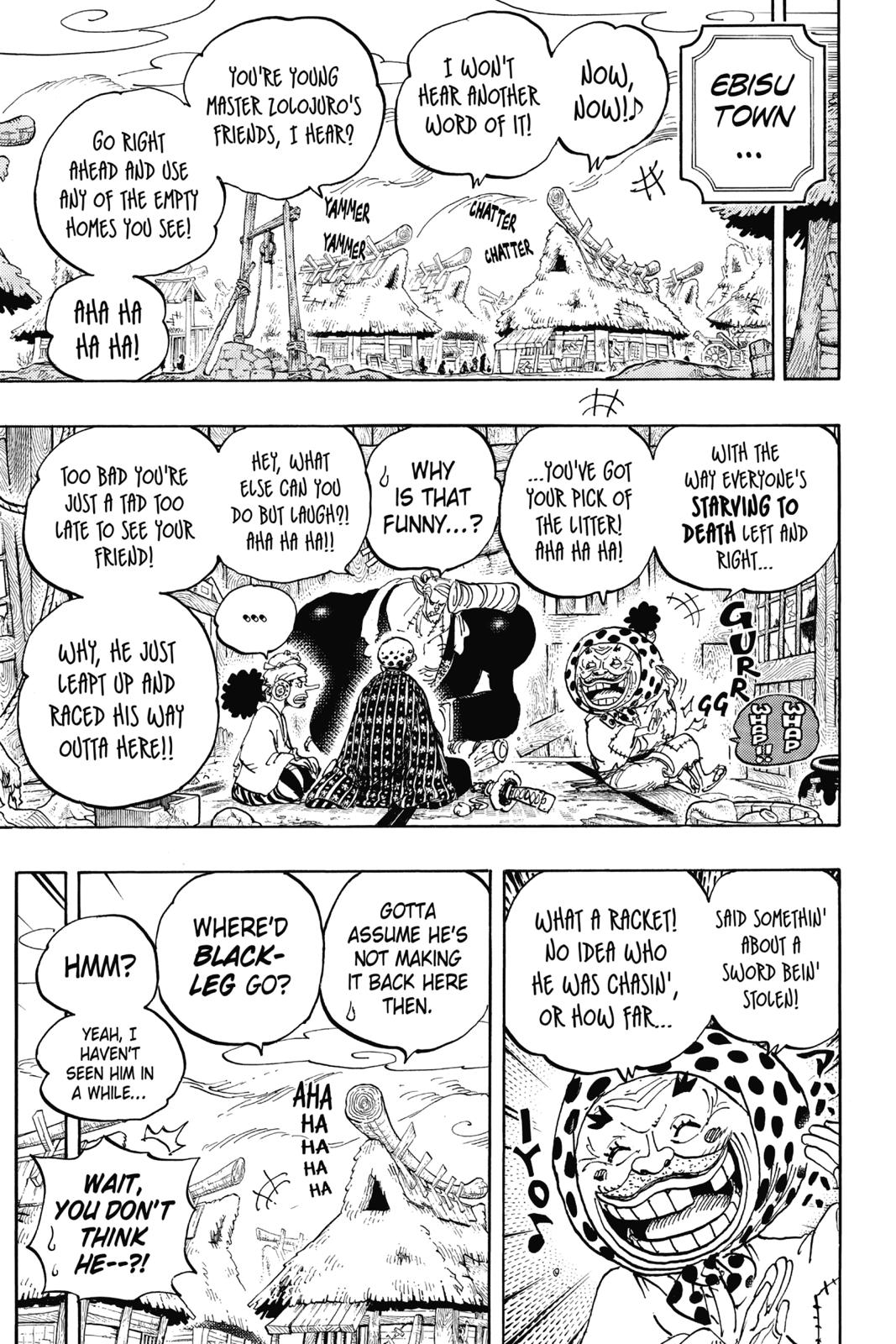 One Piece, Chapter 935 image 010