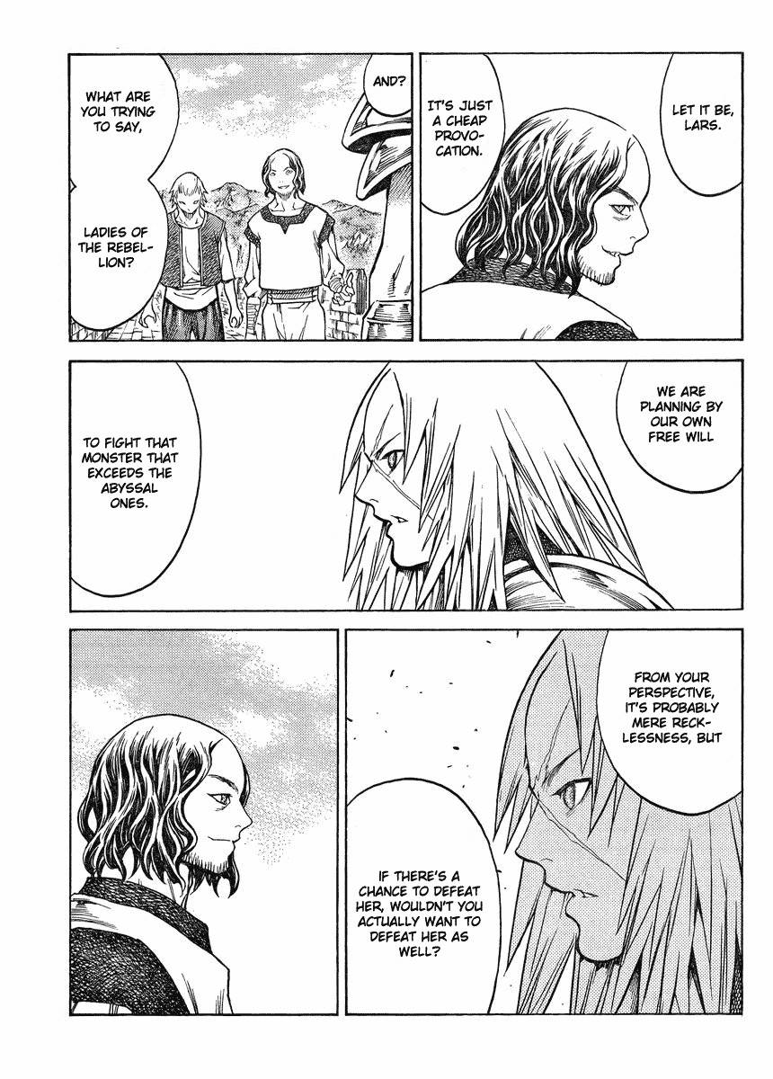 Claymore, Chapter 132 image 013
