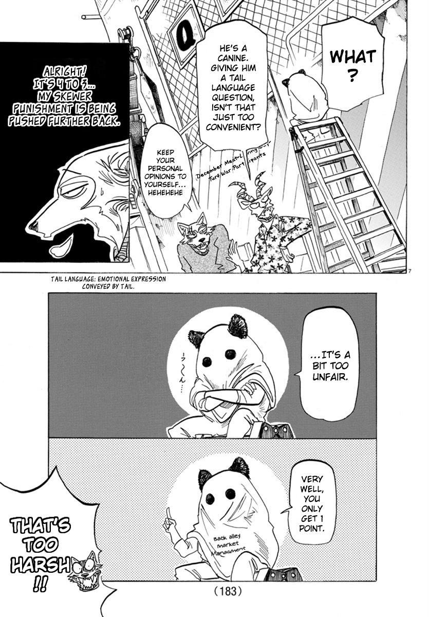Beastars Manga, Chapter 168 image 007