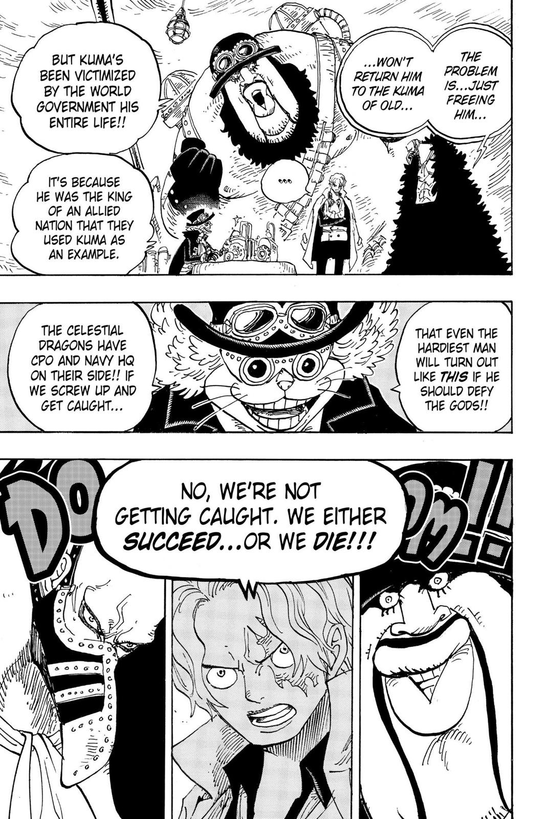 One Piece, Chapter 908 image 009