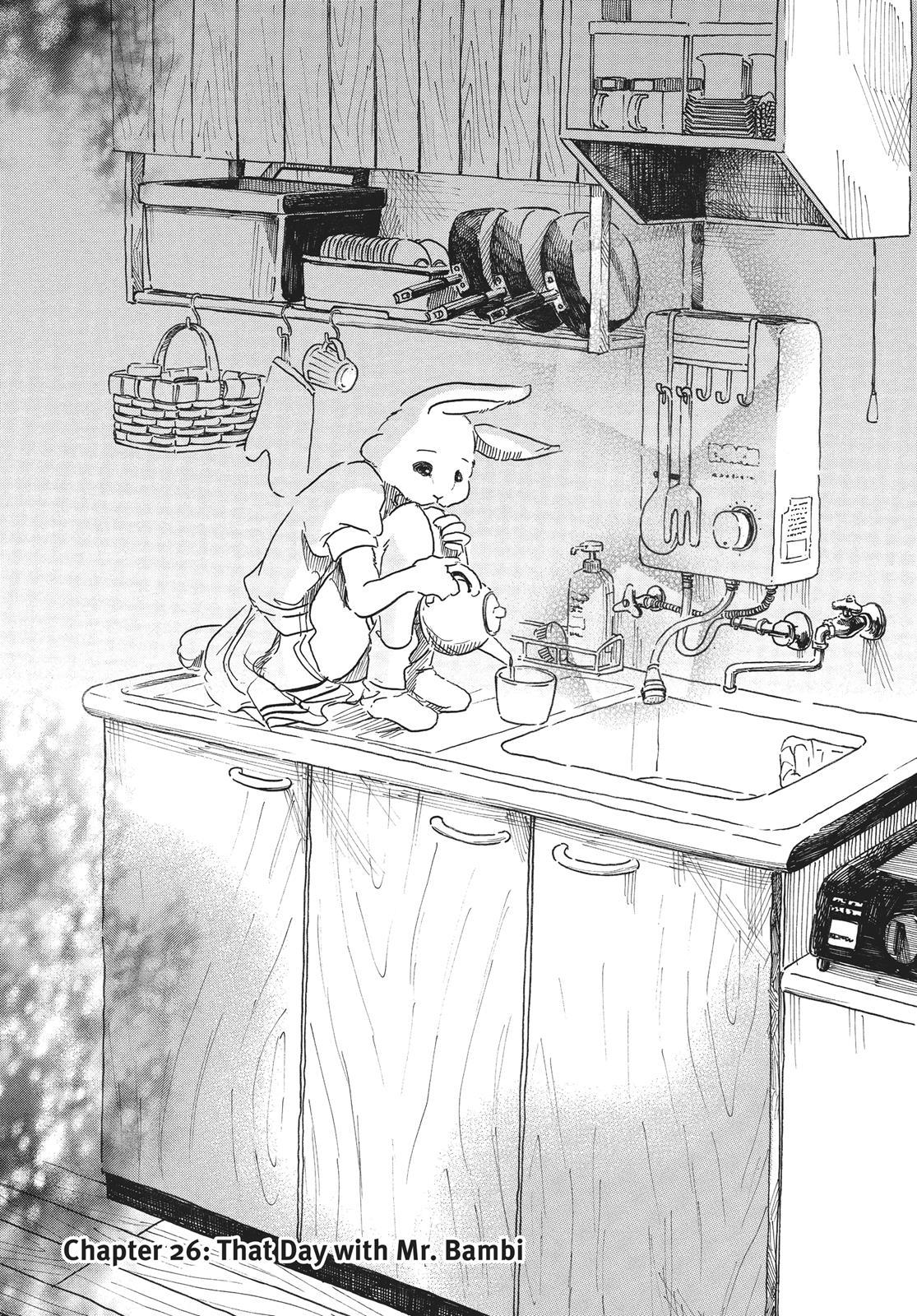 Beastars Manga, Chapter 26 image 006