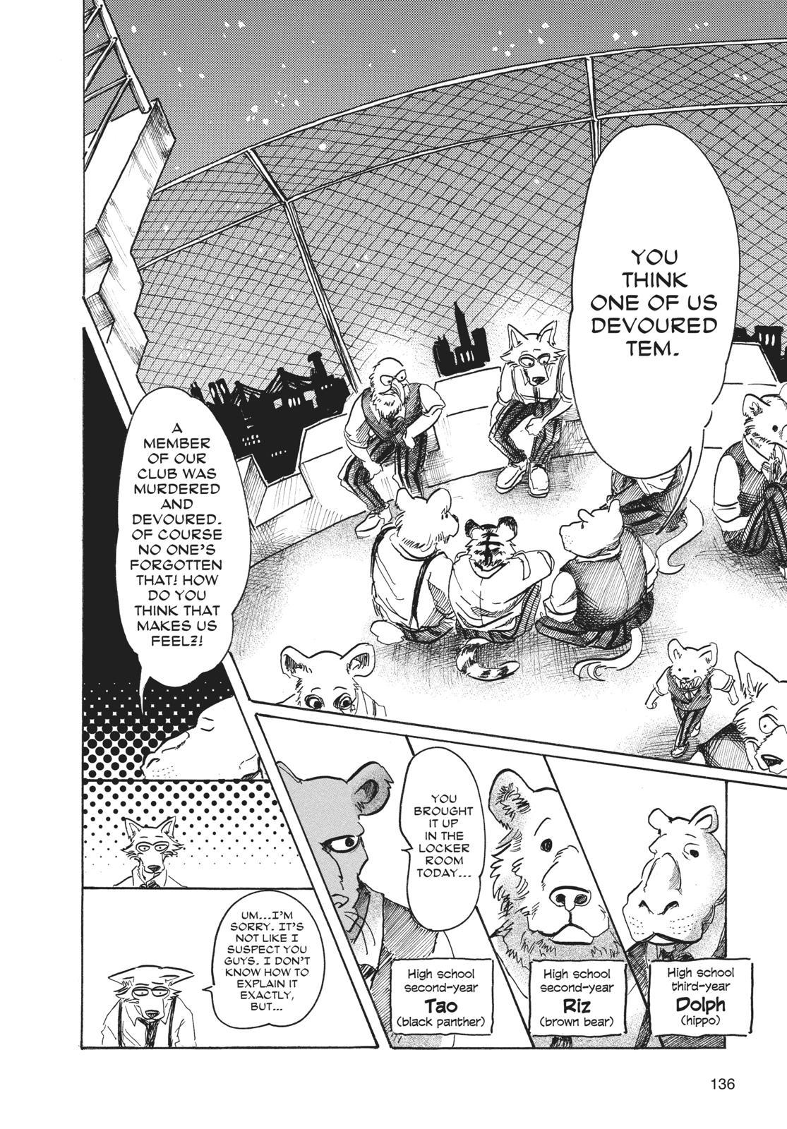 Beastars Manga, Chapter 59 image 006